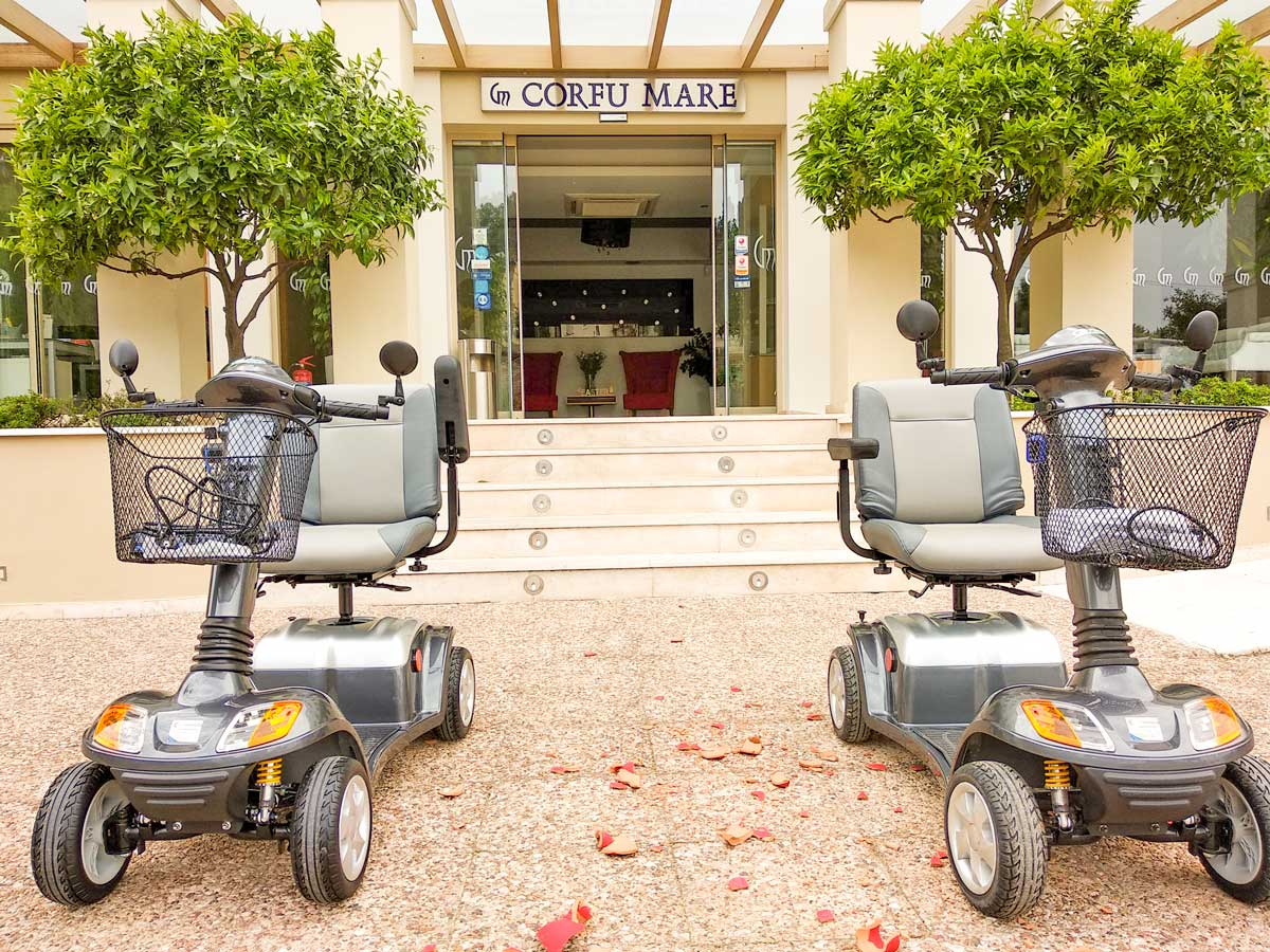 gogo mobility corfu mobility scooters